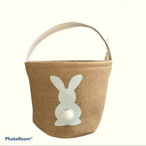 TM Kids Designs Grey Easter Basket/Storage